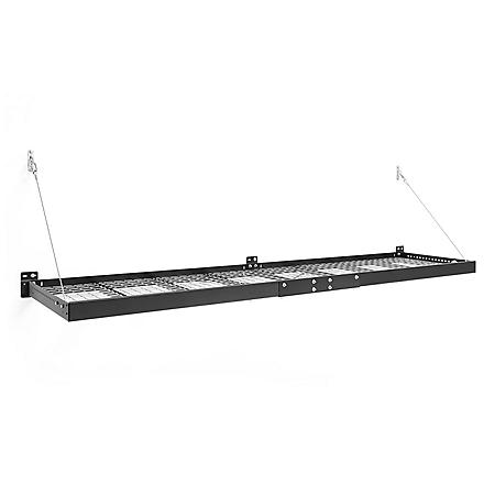 NewAge Products Pro Series 2' x 8' Wall-Mounted Steel Shelf