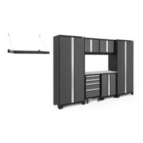 NewAge Products Bold Series 3.0 Garage Organizer, 8-Piece Set