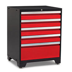NewAge Products Pro 3.0 5-Drawer Tool Cabinet (Red)