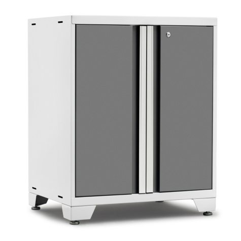 NewAge Products Pro 3.0 2-Door Base Cabinet (Platinum)