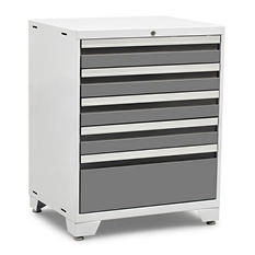 NewAge Products Pro 3.0 5-Drawer Tool Cabinet (Platinum)