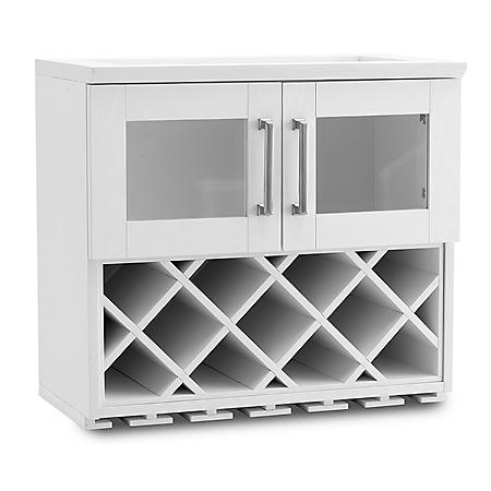 Newage Products Home Bar Wall Wine Rack Cabinet Various Options