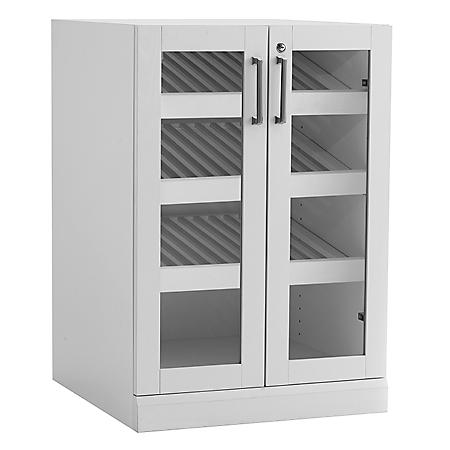 Newage Products Home Bar Glass Door Base Cabinet Various Options