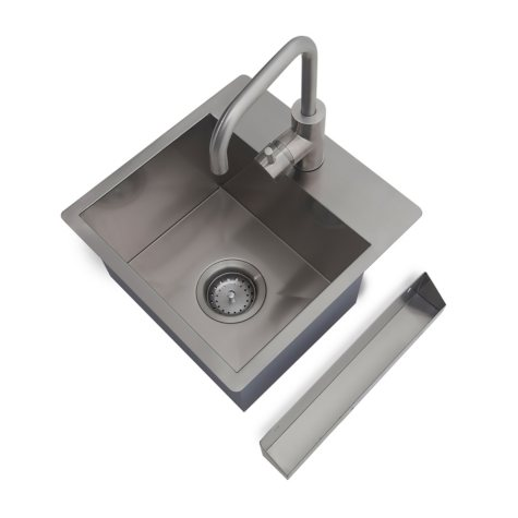 NewAge Products Home Bar Stainless-Steel Sink Kit