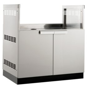 "NewAge Products Outdoor Kitchen 33"" Stainless Steel Classic Grill Cabinet"