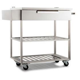 NewAge Products Outdoor Kitchen Cabinet Stainless Steel Bar ...
