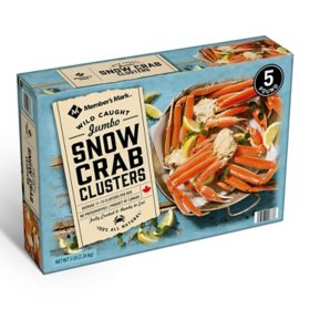Ocean Choice Snow Crab Clusters, Frozen (5 lbs.)