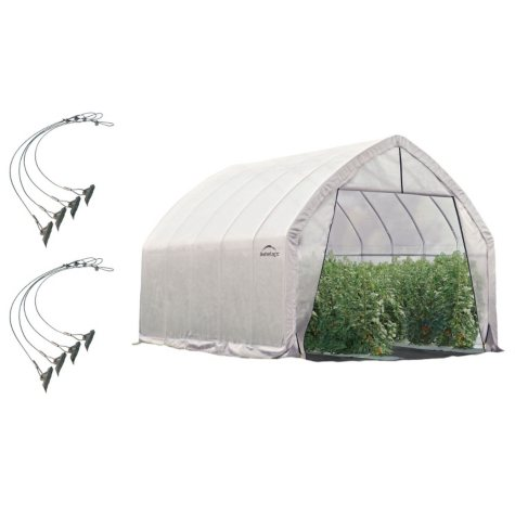 13 x 20 ft. Greenhouse With Anchor Kit
