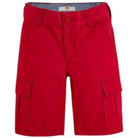 Levi's Boys' Huntington Soft Twill Cargo Shorts
