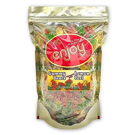 Enjoy Gummy Bears Lemon Peel (42 oz.)
