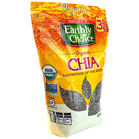 Nature's Earthly Choice Organic Chia (48 oz.)