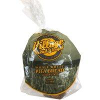 Village Bread & Bagel Whole Wheat Pita Bread (26oz)