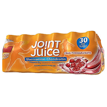 Joint Juice Supplement, Glucosamine and Chondroitin (8 oz. bottles, 30 pk.)