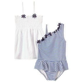 Freestyle Revolution Two-Piece Swim Set (Nautical)