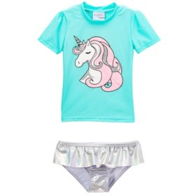 Freestyle Revolution Two-Piece Swim Set (Unicorn)