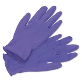 Kimberly-Clark Professional - PURPLE NITRILE Exam Gloves, Medium, Purple -  100/Box