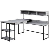 Computer Desk - Metal Corner, Assorted Colors