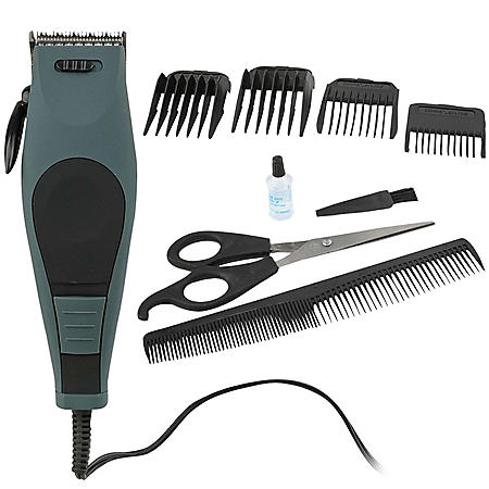 Vivitar Hair and Beard Clipping Kit (Gray)