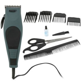 Vivitar Hair and Beard Clipping Kit (Gray)