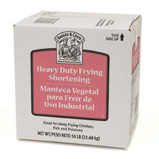 Bakers & Chefs Vegetable Frying Shortening - 50 lbs.