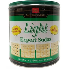 Member's Mark Light Export Soda Crackers (24 oz.)