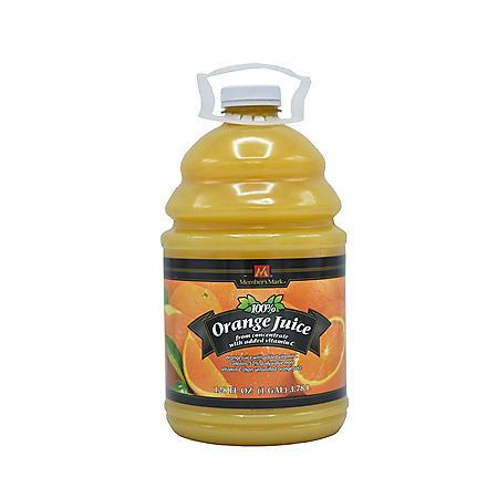 Member's Mark 100% Orange Juice (128oz.)