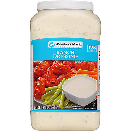 Member's Mark Food Service Ranch Dressing (128 oz.)