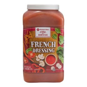 Member's Mark Food Service French Dressing (128 oz.)