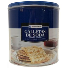 Member's Mark Galletas Export Soda (24oz)