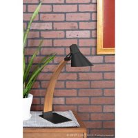 Noah Mid-Century Modern Table Lamp (Assorted Colors)