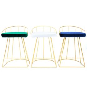 Canary Contemporary Counter Stool, Set of 2 (Assorted Colors)