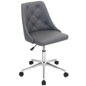 Marche Contemporary Adjustable Office Chair with Swivel (Assorted Colors)