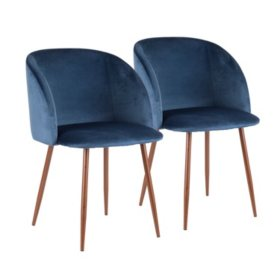 Fran Contemporary Chair, Set of 2 (Assorted Colors)