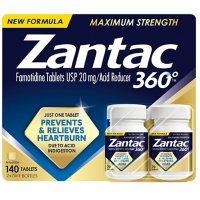 Zantac 360 Maximum Strength (140 ct.)