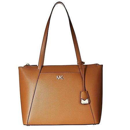 c8681283ac57 Maddie Medium Crossgrain Leather Tote by Michael Kors - Sam s Club