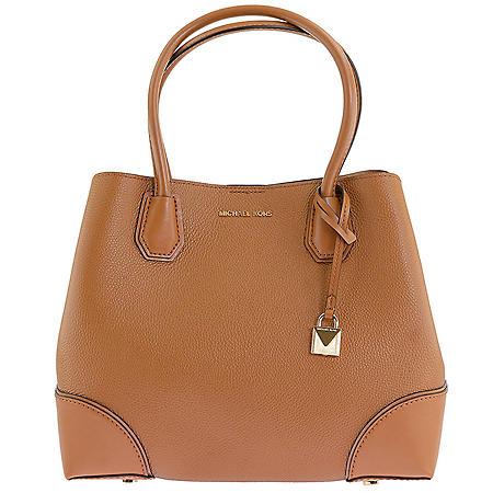 8b5b52264675 Mercer Gallery Medium Leather Satchel by Michael Kors - Sam's Club