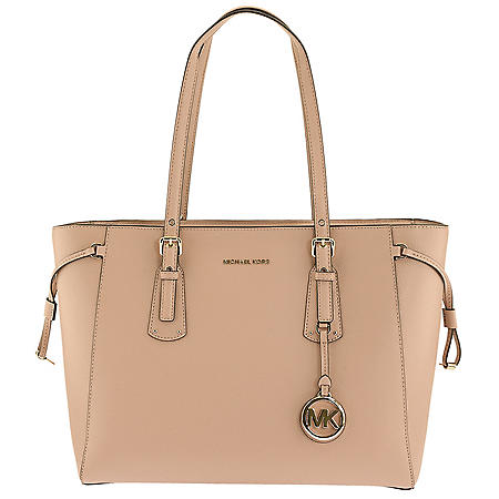 e0f0c0a70440 Voyager Medium Crossgrain Leather Tote by Michael Kors - Sam s Club