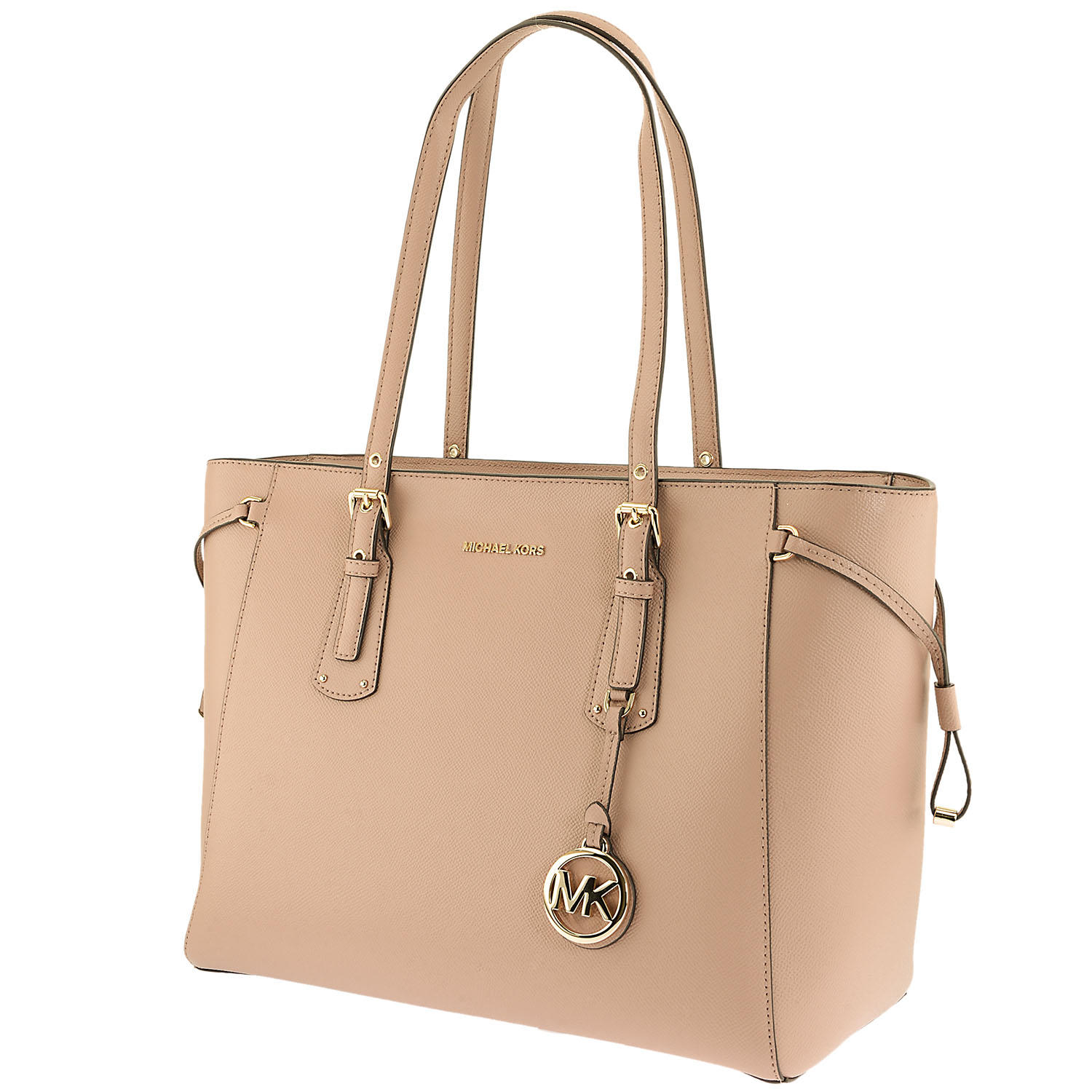 cb429969b2bc Deals & Coupons | Voyager Medium Crossgrain Leather Tote by Michael Kors