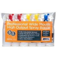 Bottle Crew Professional Wide Mouth High Output Spray Bottle (32 oz., 6 pk.)