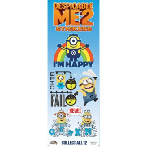 Despicable Me Stickers (300 ct.)