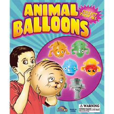"""Cool Animal Balloons in 2"""" Capsules ( 250 ct. )"""