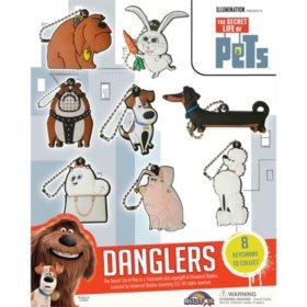 "2"" The Secret Life Of Pets 2D Danglers Capsules (250 ct.)"