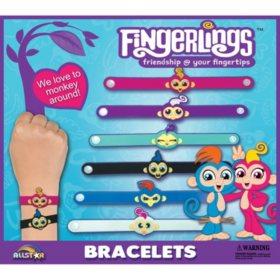 """Fingerlings PVC Bracelets in 2"""" Capsules"""
