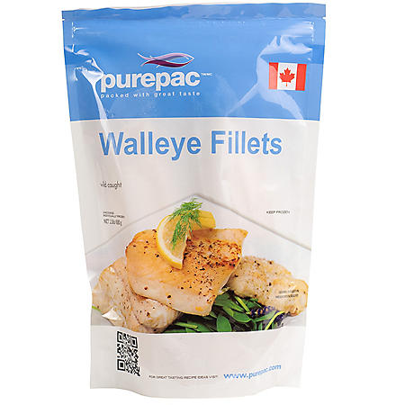 Purepac Wild Caught Walleye Fillets (1.5 lbs.)