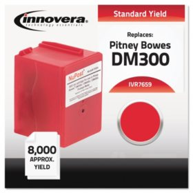 Innovera® Compatible 765-9 Postage Meter Ink, Red