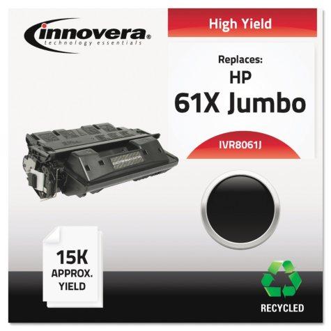Innovera® Remanufactured C8061X(J) (61XJ) Extra High-Yield Toner, Black