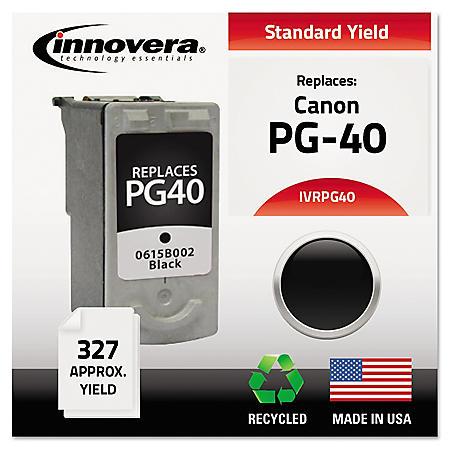 Innovera® Remanufactured 0615B002 (PG-40) Ink, Black