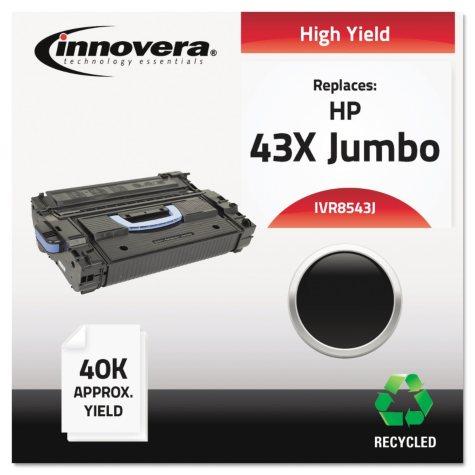 Innovera® Remanufactured Q8543X(J) (43XJ) High-Yield Toner, Black