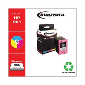 Innovera Remanufactured Tri-Color Ink, Replacement For HP 901 (CC656AN), 360 Page Yield