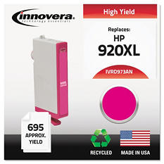 Innovera® Remanufactured CD973AN (920XL) High-Yield Chipped Ink, Magenta